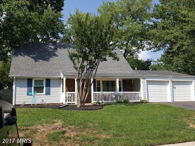 Fairfax Single Family Home For Sale: 13202 Pennypacker Lane