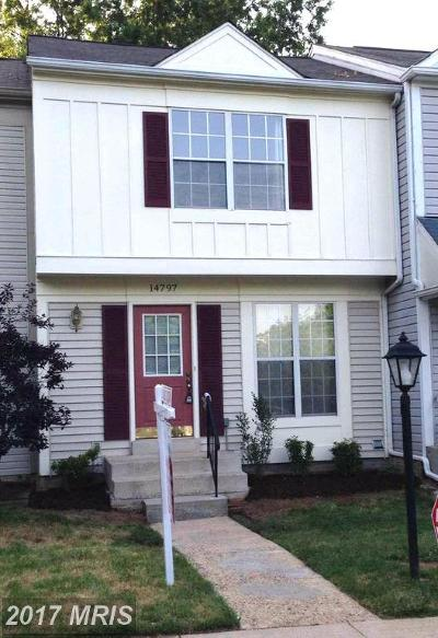 Centreville Townhouse For Sale: 14797 Basingstoke Loop