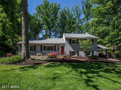Falls Church Single Family Home For Sale: 6351 Carolyn Drive