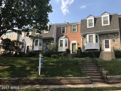 Centreville Townhouse For Sale: 13934 Antonia Ford Court