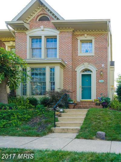 Fairfax Townhouse For Sale: 11766 Valley Ridge Circle
