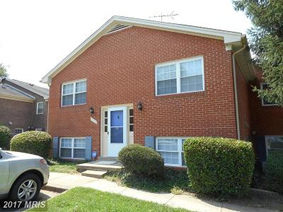 Lorton Townhouse For Sale: 9531 Hagel Circle #ABG