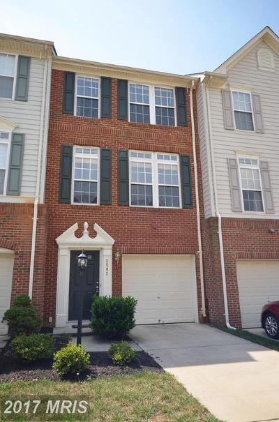 Falls Church Townhouse For Sale: 3502 Ellery Circle
