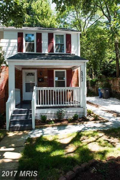 Alexandria Townhouse For Sale: 5865 Edgehill Drive