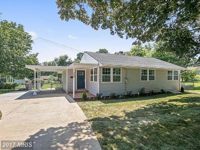 Falls Church Single Family Home For Sale: 3007 Graham Road