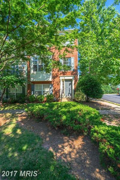 Centreville Townhouse For Sale: 14141 Gabrielle Way