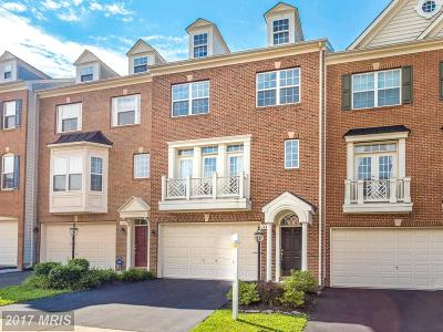 Fairfax Townhouse For Sale: 12605 Buckleys Gate Drive