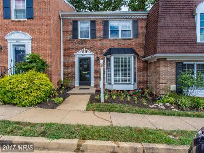 McLean Townhouse For Sale: 6624 McLean Court