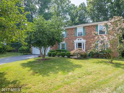 Burke Single Family Home For Sale: 9505 Yawl Court