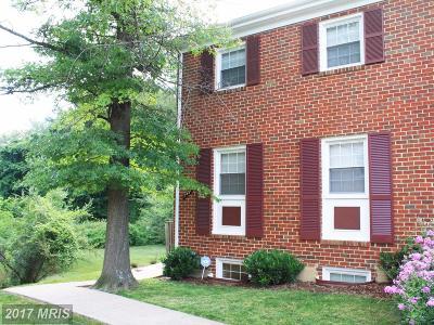 Annandale Townhouse For Sale: 7451 Jayhawk Street