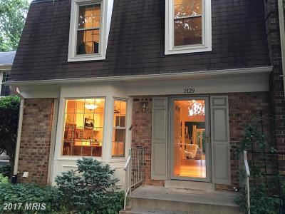 Falls Church Townhouse For Sale: 2129 Kings Mill Court