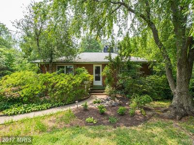 Falls Church Single Family Home For Sale: 3048 Holmes Run Road