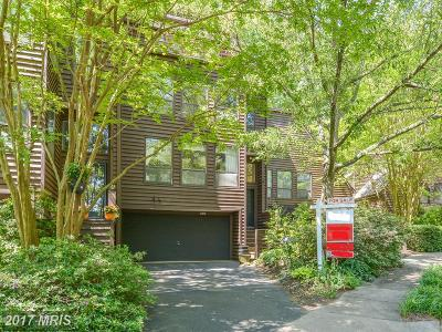 Reston Townhouse For Sale: 2013 Turtle Pond Drive