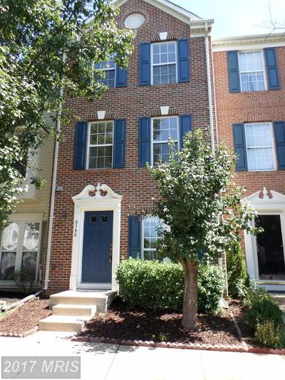 Alexandria Townhouse For Sale: 8346 Hunter Murphy Circle