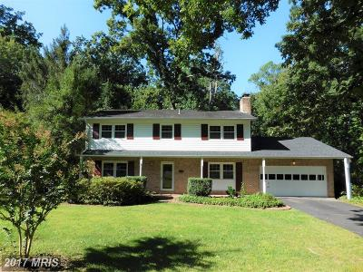 Reston Single Family Home For Sale: 2404 Old Trace Lane