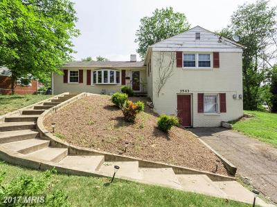 Falls Church Single Family Home For Sale: 3543 Blair Road