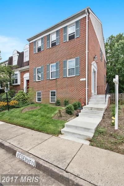 Oakton Townhouse For Sale: 3126 Valentino Court