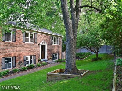 Alexandria Single Family Home For Sale: 8127 Yorktown Drive