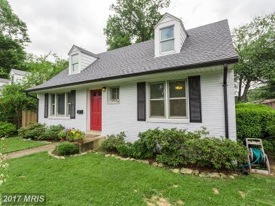 Falls Church Single Family Home For Sale: 6805 Custis Parkway