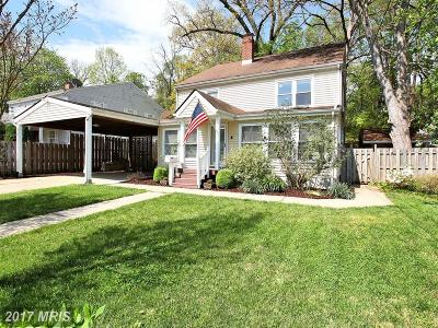 Falls Church Single Family Home For Sale: 6627 Barrett Road
