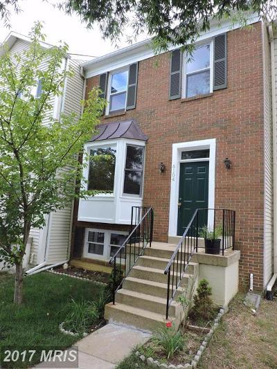 Townhouse For Sale: 6104 Joust Lane