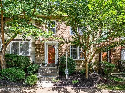 Vienna Townhouse For Sale: 7935 Tyson Oaks Circle