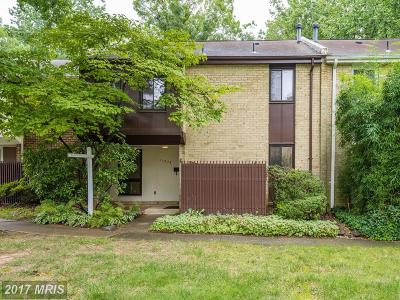 Reston Townhouse For Sale: 11073 Saffold Way