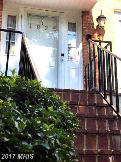 Vienna Townhouse For Sale: 1835 Jeffersonian Drive