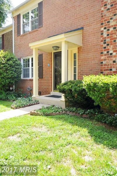 Reston Townhouse For Sale: 2270 Gunsmith Square