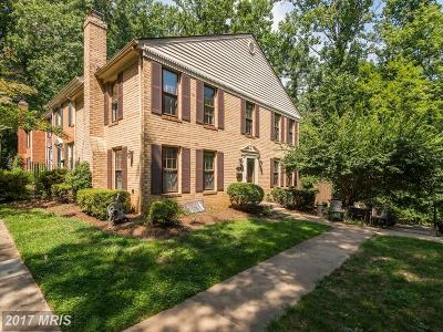 Reston Townhouse For Sale: 11920 Sloane Court