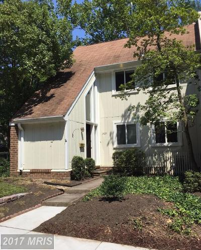 Reston Townhouse For Sale: 1429 Greenmont Court
