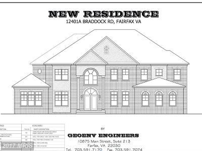 Fairfax Single Family Home For Sale: 12401 Braddock Road