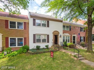 Springfield Townhouse For Sale: 8329 Wrenford Court