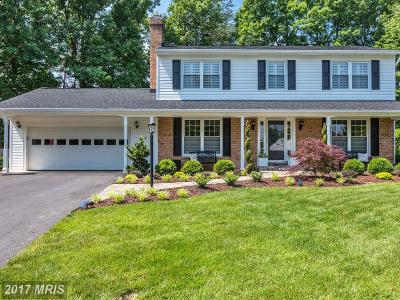 Springfield Single Family Home For Sale: 9103 Fishermans Lane