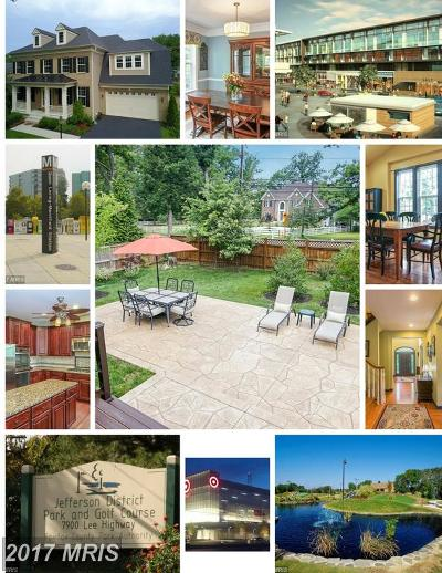 Falls Church Single Family Home For Sale: 2712 Pioneer Lane