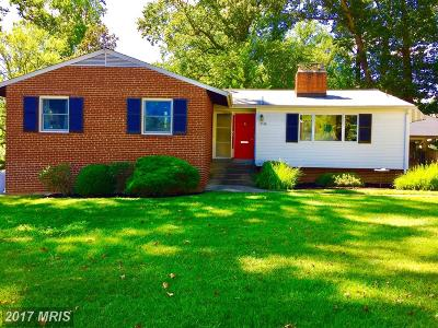 Vienna Single Family Home For Sale: 9116 Brian Drive