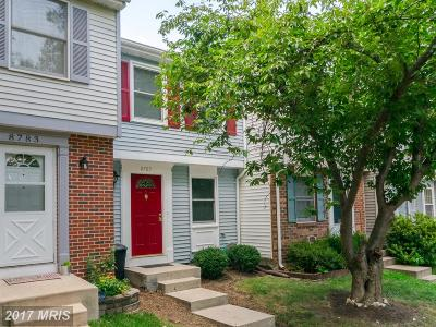 Lorton Townhouse For Sale: 8785 Susquehanna Street