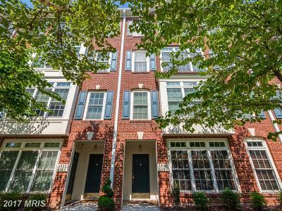 Fairfax Townhouse For Sale: 4651 Eggleston Terrace #432