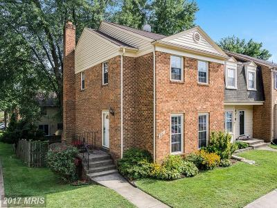 Burke Townhouse For Sale: 9771 High Water Court