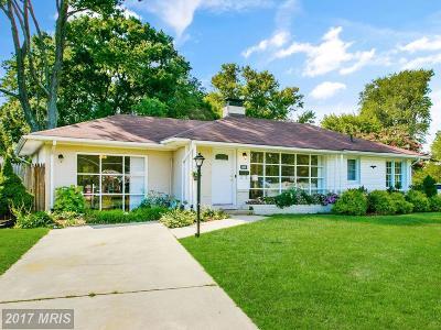 Alexandria Single Family Home For Sale: 1600 Shenandoah Road