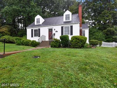 Falls Church Single Family Home For Sale: 3000 Westcott Street