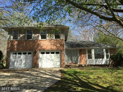 Springfield Single Family Home For Sale: 7315 Walnut Knoll Drive