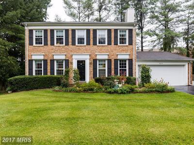Burke Single Family Home For Sale: 6315 Capella Avenue