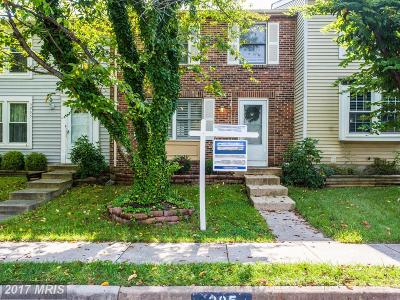 Centreville Townhouse For Sale: 5907 Spruce Run Court