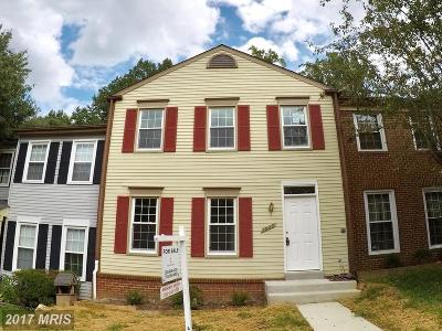 Springfield Townhouse For Sale: 7923 Forest Path Way