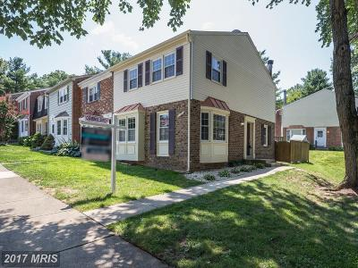 Fairfax Townhouse For Sale: 5020 McFarland Drive