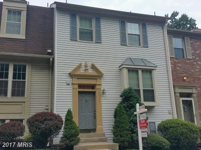 Burke Townhouse For Sale: 5711 Burke Towne Court