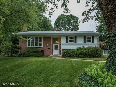 Alexandria Single Family Home For Sale: 8317 Fort Hunt Road