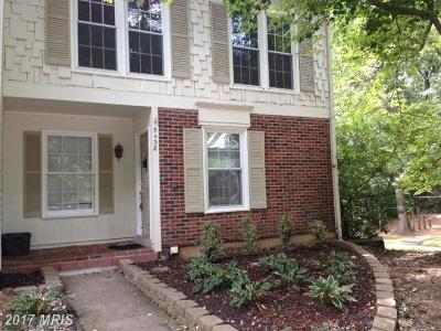 Fairfax Townhouse For Sale: 5438 Long Boat Court