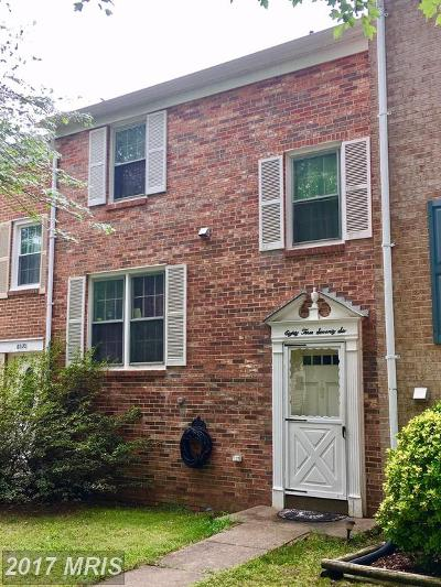 Springfield Townhouse For Sale: 8376 Luce Court